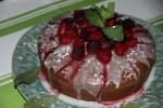 Бисквитный пирог с лавровым листом