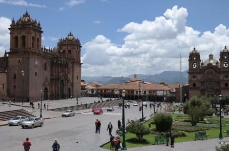Центральная площадь Куско