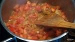 Обжариваем ингредиенты для супа
