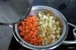 После варки без воды в сотейникеZepter овощи не потеряли цвет
