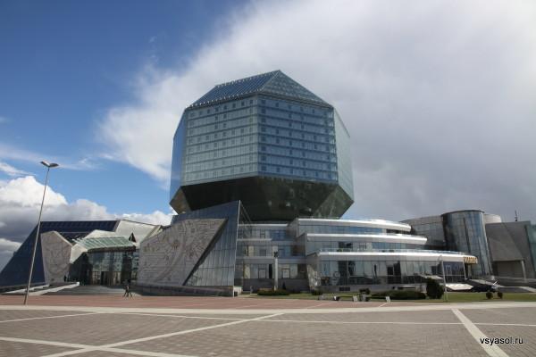Национальная библиотека Белоруссии весит 115 тысяч тонн без учета книг