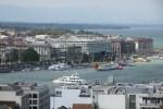 Вид на Женеву с башни собора Св.Петра