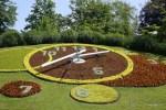 Женева- город часов. Цветочные часы в Английском парке