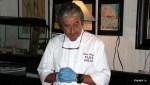 Пьетро Гонгони настраивается на очередной кулинарный шедевр