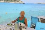 Лутраки, пляж в 20 минутах от Ханьи