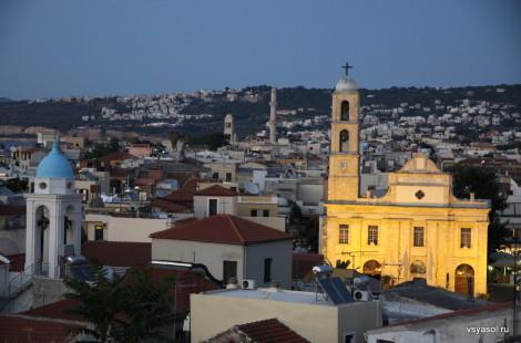Закат в Ханье, Крит