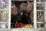 Окно кухни ресторана в Ретимно. Крит
