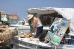 Продавец губок в Венецианской гавани Ханьи, Крит