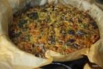 Куку из баклажанов с барбарисом