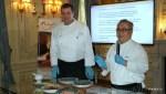 Шеф Исмаил вместе с российским  коллегой из ресторана Турандот