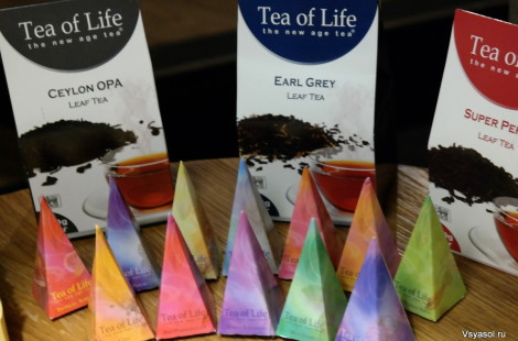 Вся гамма оттенков цейлонских чаев