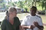 Луис Маурисио Лопес Браун, владелец ресторана Roots на острове Бастиментос. Панама, Бокас дель Торо