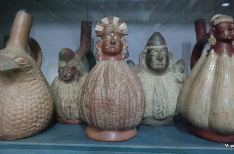 Индейцы культуры Моче в Древнем Перу изображали на керамике свои главные продукты питания