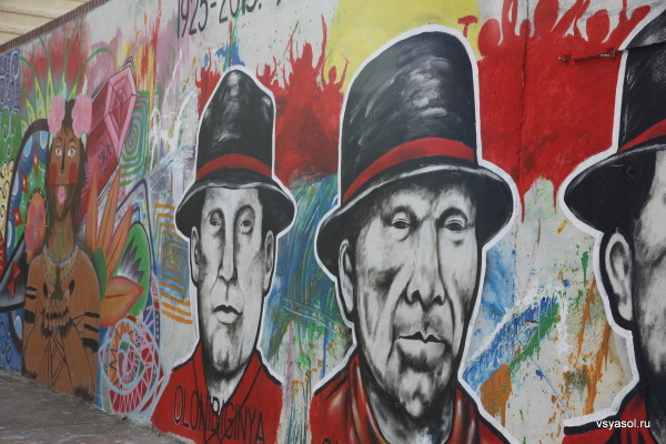 Народное творчество на улицах Панамы