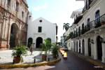 На улицах Старого города в Панамеа