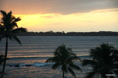 Рассвет на острове Колон, Бокас дель Торо