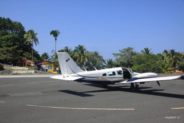 По воздуху из Панамы до Контадоры - 15 минут