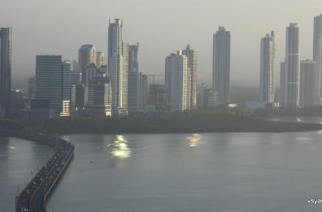 Панама, вид на новый район Коста дель Эсте