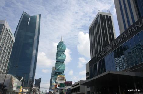 В центре панамской столицы