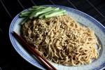 Китайская лапша с кунжутом
