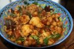 Вегетарианское карри с цветной капустой