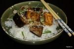 Баклажаны и тофу в соусе терияки