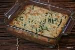 Клафути со спаржей и зеленым горошком