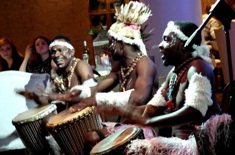 Кенийские барабанщики