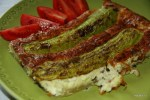 Пирог с кабачками и рикоттой