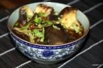 Закуска из баклажанов в остром чесночном соусе