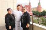 Жозеф Арис с коллегами. Фото предоставлено Посольством Перу
