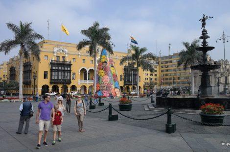 В историческом центре Лимы