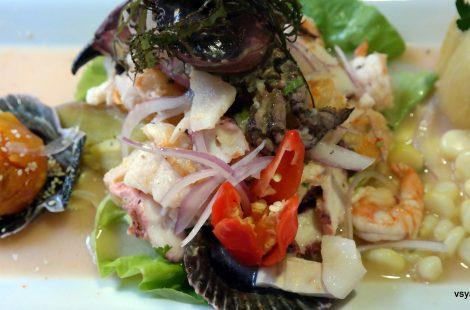Севиче, флагманское блюдо новой перуанской кухни. Так его готовят в Трухильо