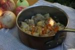 Курица с яблоками по-астурийски
