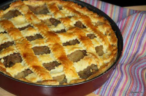 Яблочный пирог как шедевр художника
