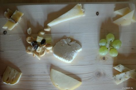 Дегустация фермерских сыров Марии Коваль