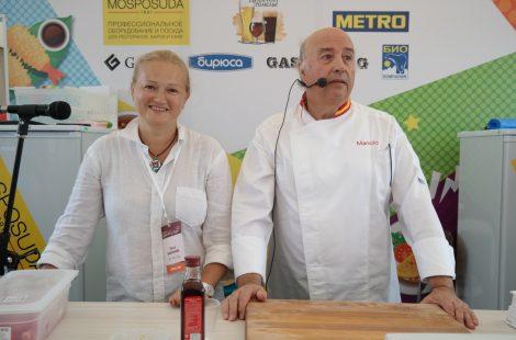 На мастер-классе с Мануэлем Лопесом в Ярославле. Фото Натальи Тарабриной