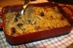 Картофельный гратен со свежими грибами