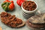 Румынская закуска: икра из гогошаров и баклажанов