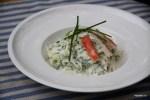 Салат из крабов с сельдереем