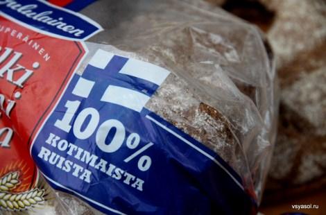 Финны гордятся своих ржаным хлебом