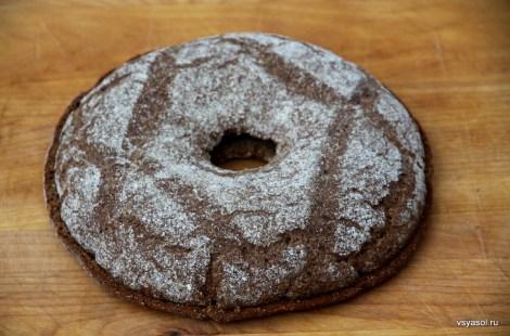 Такой финский хлеб в старину хранили всю зиму