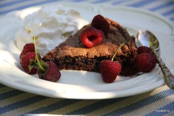 Шведский шоколадный торт Кладдака