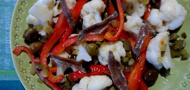 Неаполитанский укрепляющий салат