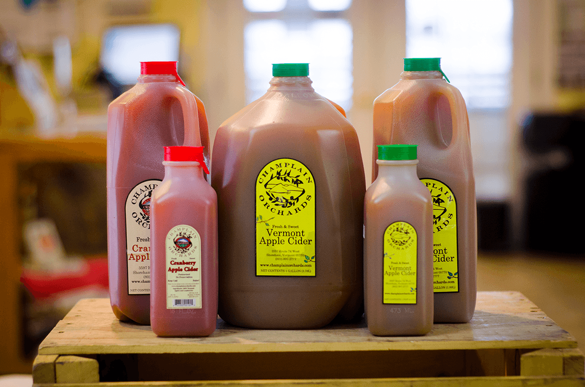 Image of jugs of apple cider
