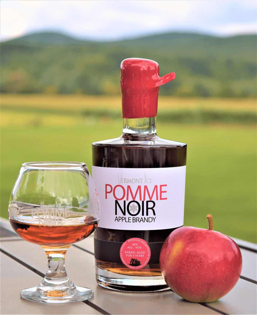 Image of Pomme Noir apple brandy