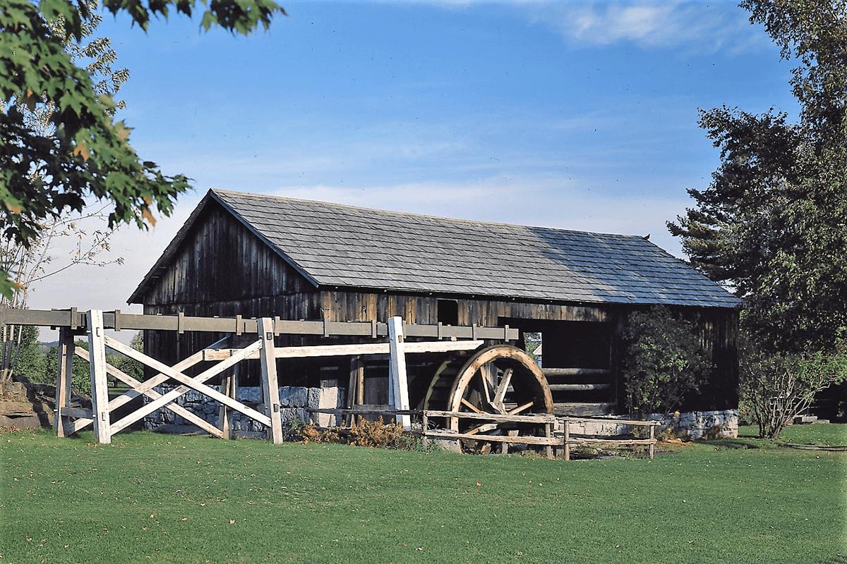 Image of Shelburne Museum sawmill
