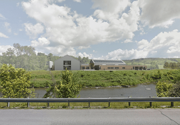 Image of the proposed distillery for Barr Hill Gin in Montpelier, Vermont