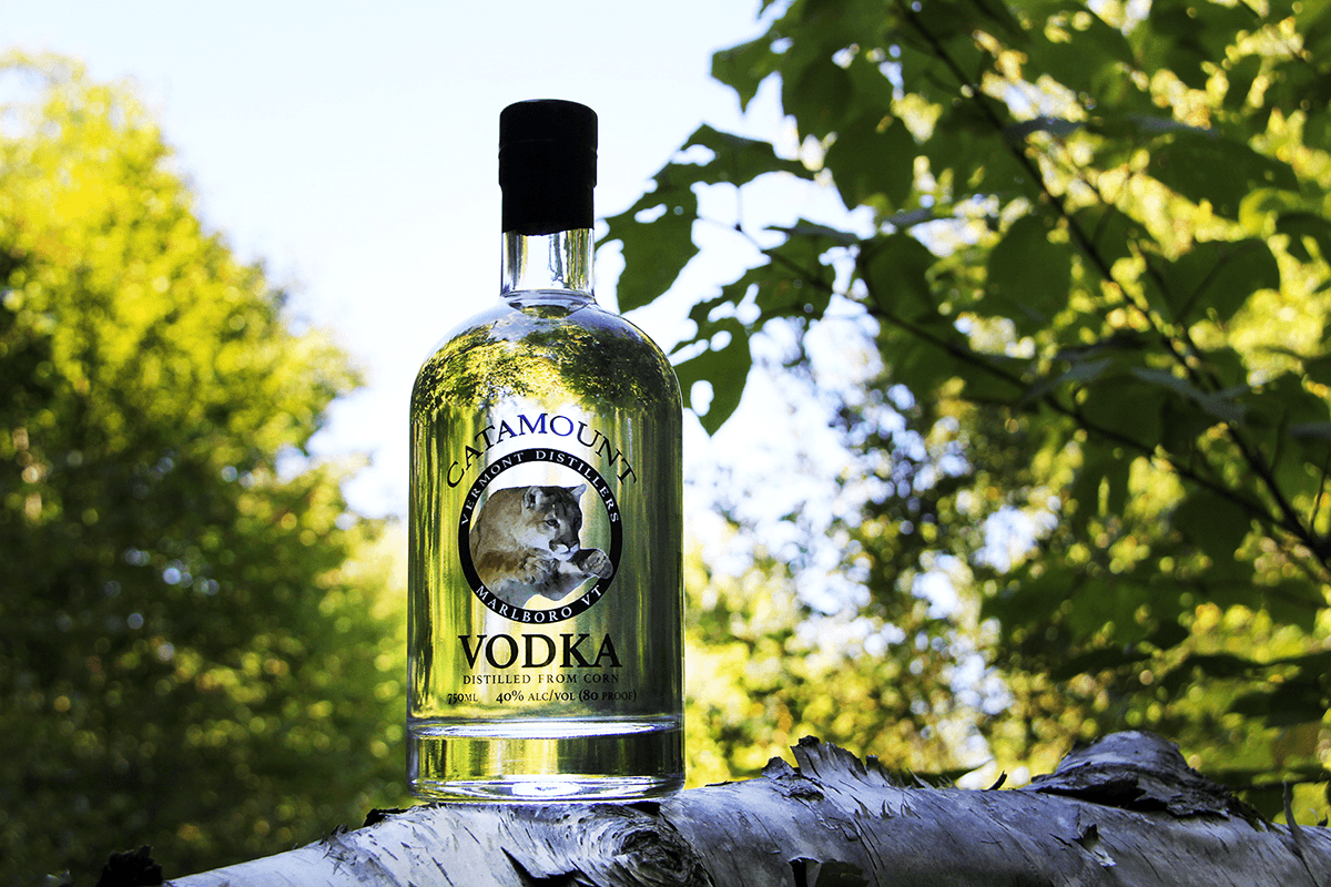 Image of Catamount Vodka at Vermont Distillers