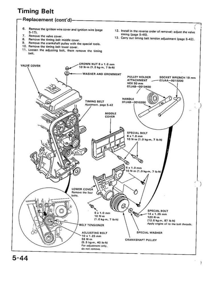 B Series Torque Setting Vtec Daily